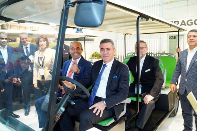 T-Car Antalya'da turizm sektörüyle buluştu