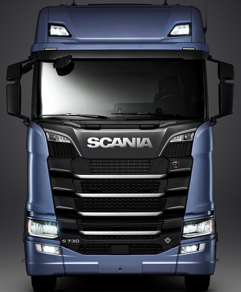 Scania S Serisi isim değiştirdi