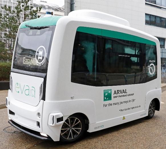 """Arval'in sürücüsüz servisi """"Evaa"""" yola çıkıyor"""