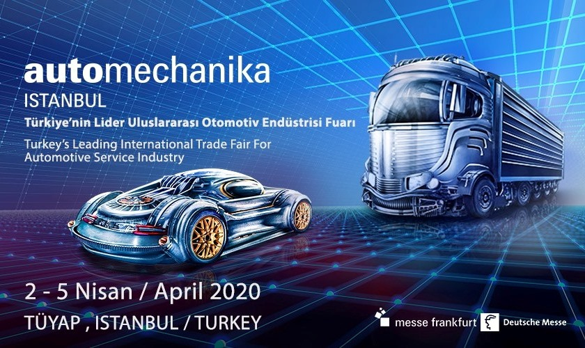 Otomotiv sanayi Automechanika Istanbul'da buluşacak
