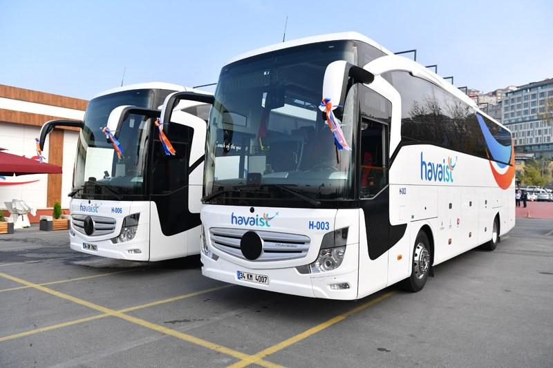 Havalimanı otobüs hizmeti de bakanlığa geçiyor