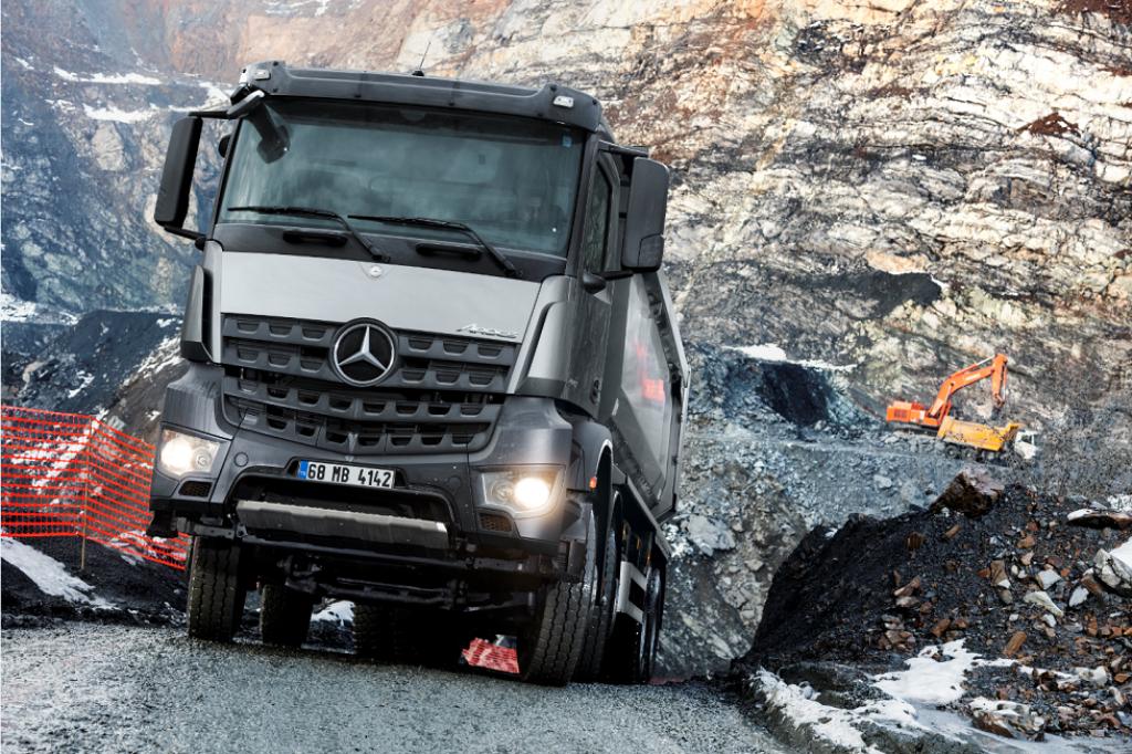 Mercedes çekici almak hiç bu kadar kolay olmadı