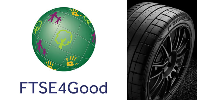 Pirelli, FTSE4Good Index'te lider oldu