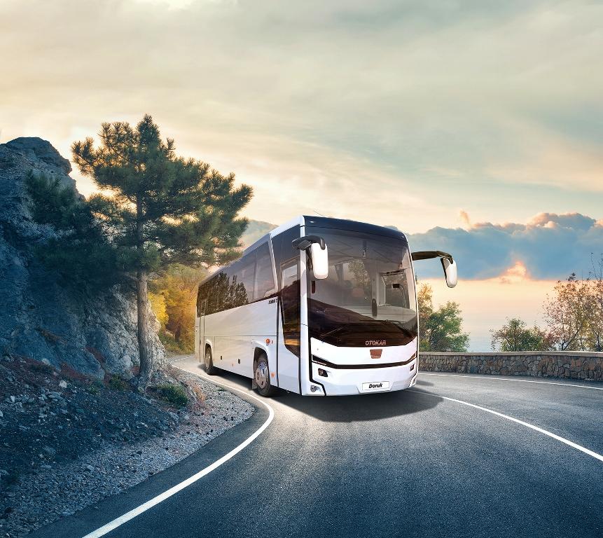 50 ülkenin yollarında  Otokar otobüsleri yürüyor