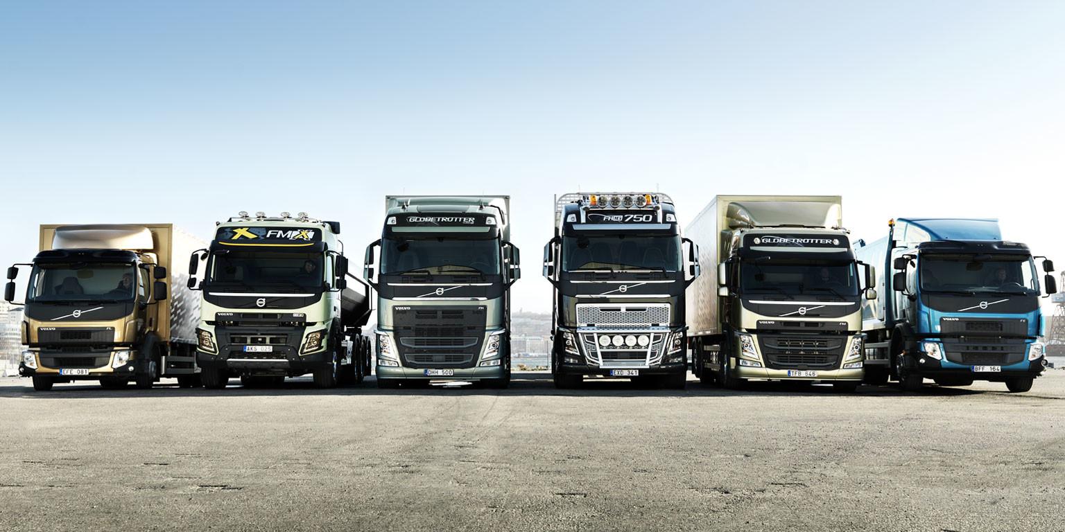 Volvo Trucks'tan 3 firmaya 50 araçlık teslimat