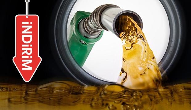 Benzinin litre fiyatına bu gece indirim geliyor