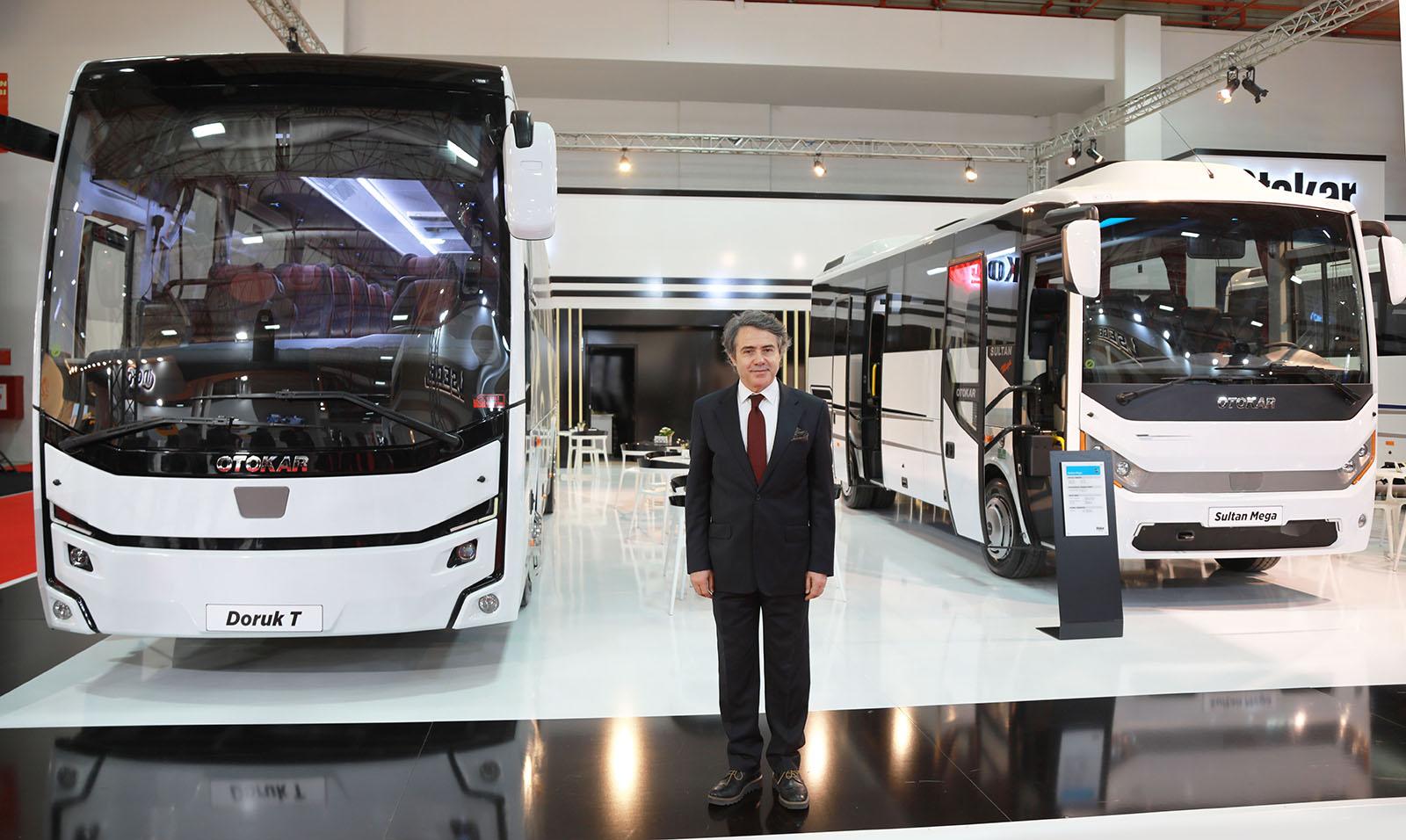Otokar Busworld Turkey'e 5 aracıyla katıldı