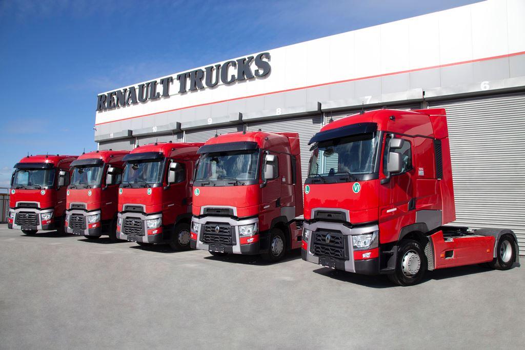 "Frigo Nevnak filosu ""Hepsi Renault Trucks"" olma yolunda"