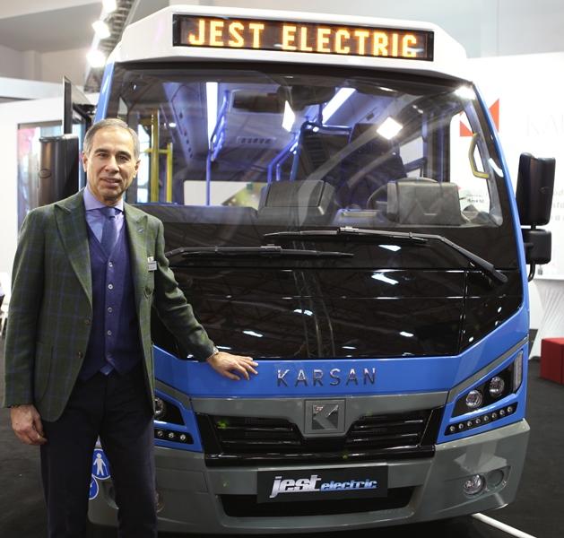 Karsan'ın elektriklileri Busworld'de görücüye çıktı