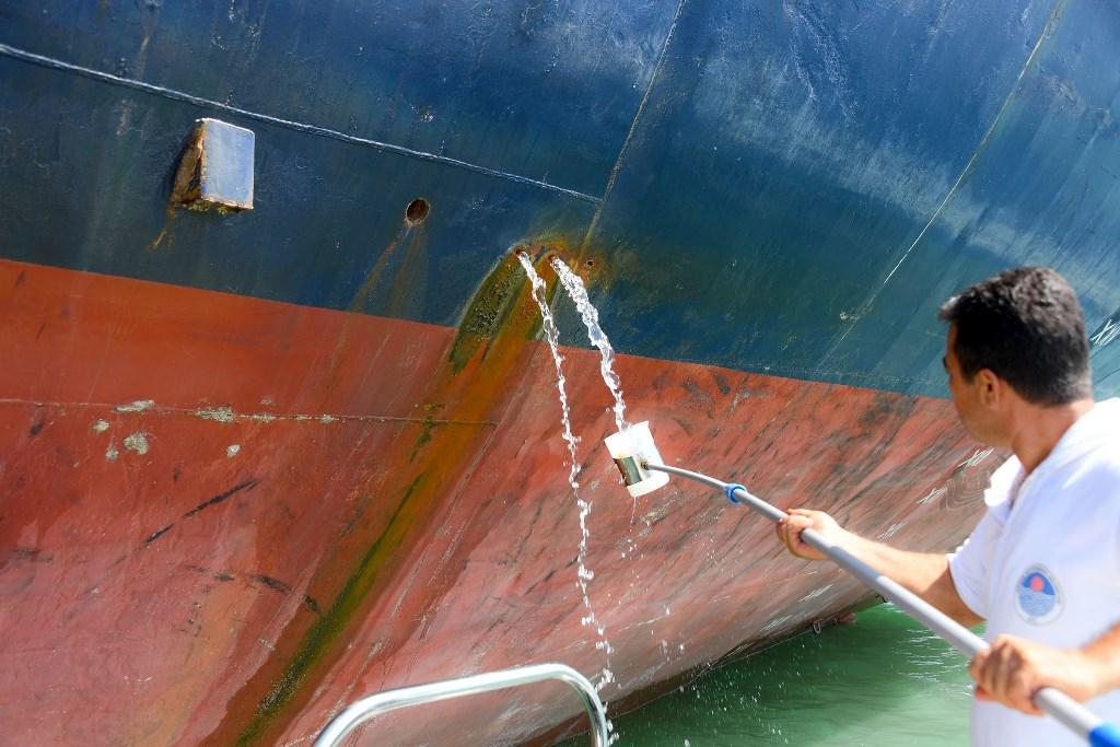 Mersin'de 18 gemiye  34.2 milyon TL ceza