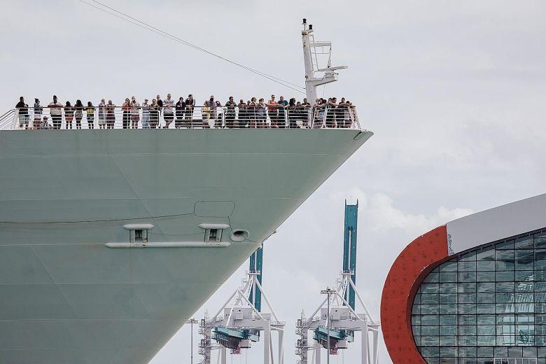 ABD'deki yolcu gemileri 30 gün limanlarında tutulacak