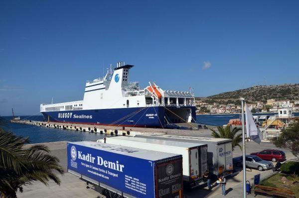 Ticaret Bakanlığı'ndan Çeşme Limanı açıklaması