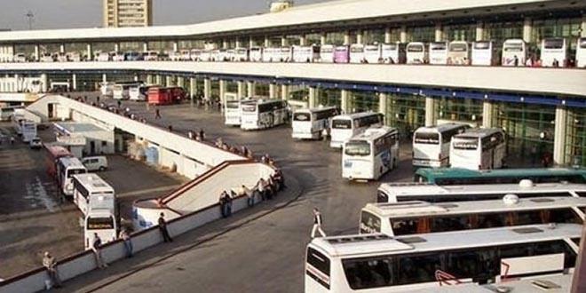 Şehirlerarası otobüsler hiç böyle acı fren yapmamıştı
