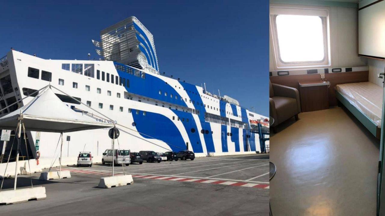 Splendid gemisi yüzen hastaneye dönüştürüldü