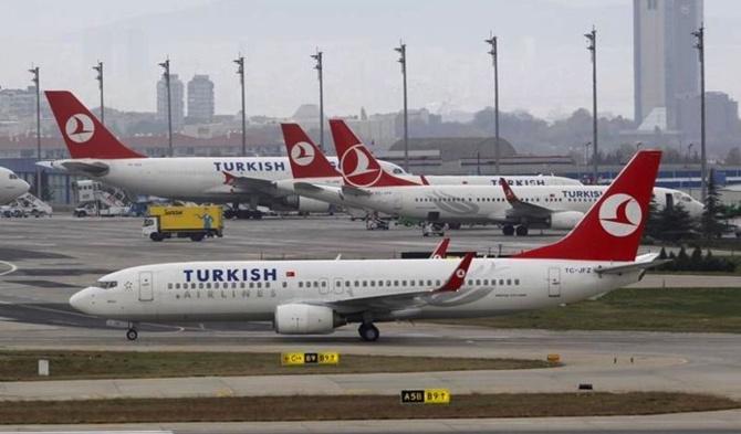 Sonunda New York-İstanbul uçuşları da durdu