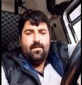 """TIR şoförü """"Nasıl evde kalayım"""" dedi gözaltına alındı"""
