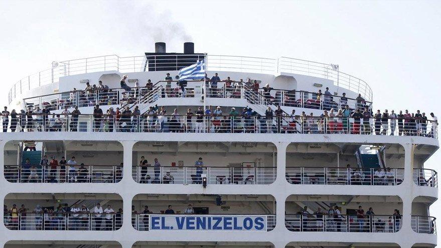 Limandaki 160 Türk'ten 65'inde Korona çıktı