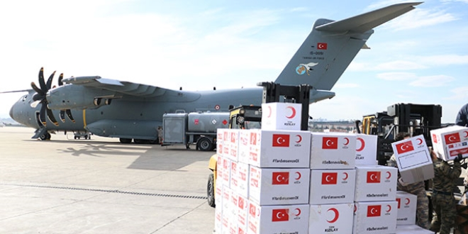 Türkiye'den 5 ülkeye daha tıbbi yardım
