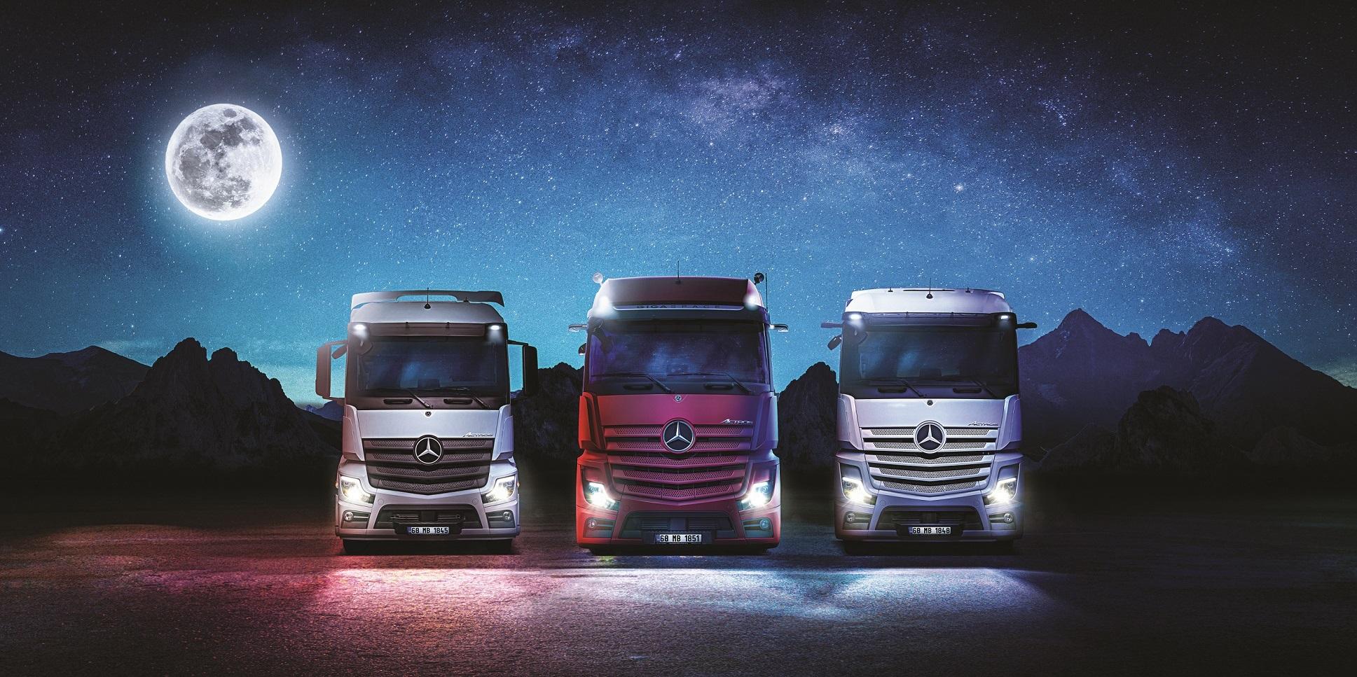 Mercedes'ten kamyon modellerine özel eylül fırsatları