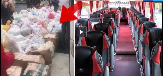 Yolcu bulamayan otobüsler yük taşımaya başladı