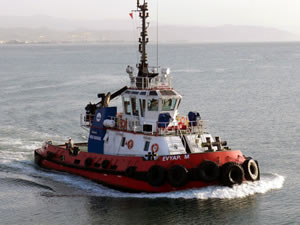 Ceyport Tekirdağ 2 römorkör, 1 palamar botu aldı