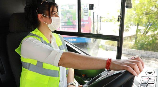 EGO otobüslerinde 10 kadın daha direksiyona geçiyor