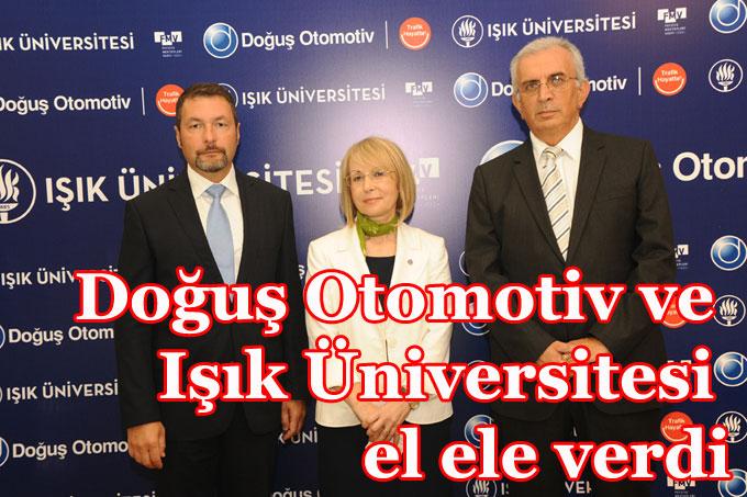 Doğuş Otomotiv ve Işık Üniversitesi'nden dev işbirliği