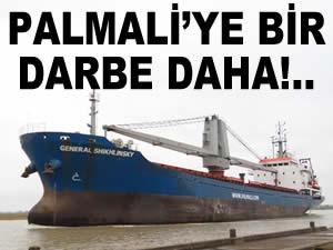 Palmali'nin iki gemisi İtalya'da tutuklandı