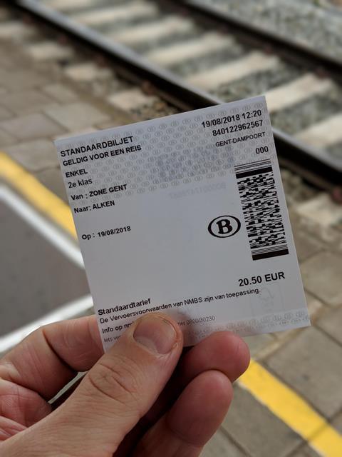 Belçika'da her vatandaşa 10 ücretsiz tren bileti
