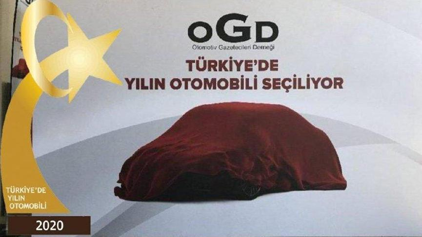 Türkiye'de 2020 yılının otomobili belli oldu