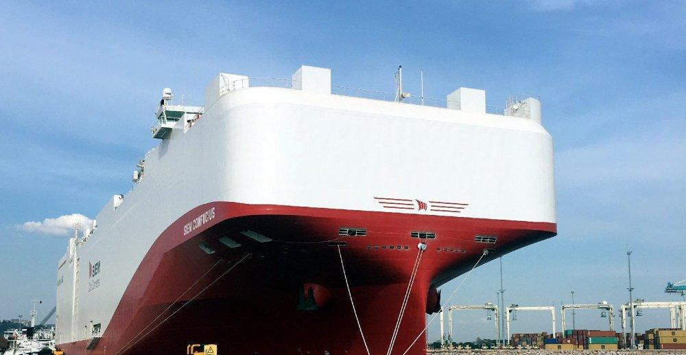 Dünyanın en büyük LNG'li Ro-Ro gemisi VW için yolda
