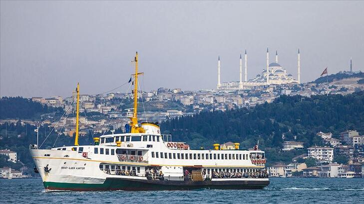 İstanbul'da vapur ücreti 5 kuruşa indi