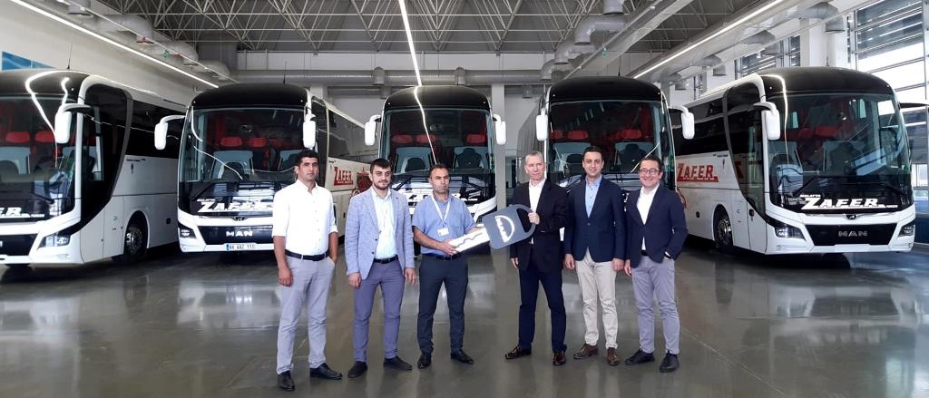 Malatya Zafer filosuna 10 adet MAN Lion's Coach kattı