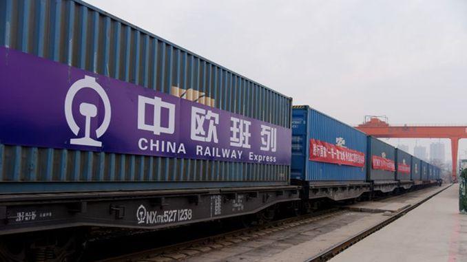 Çin'den gelen ikinci yük treni 12 günde Köseköy'e ulaştı