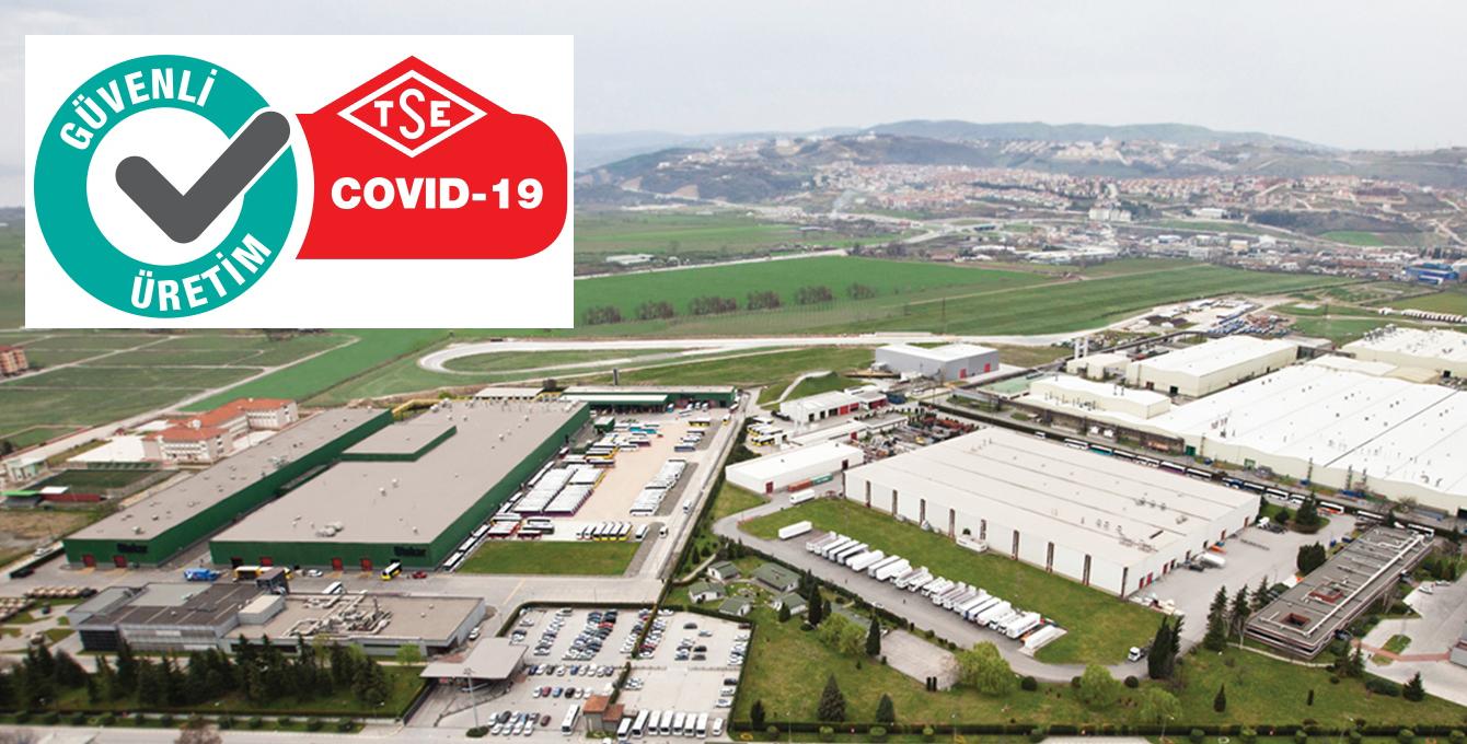 Otokar, TSE Covid19 Güvenli Üretim Belgesi'ni aldı