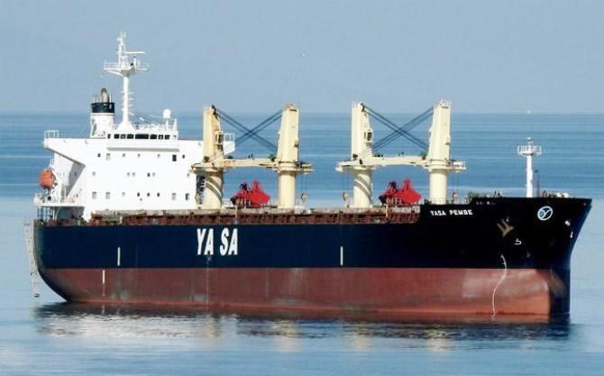 M/V YASA PEMBE, Kanada'da tutuklandı