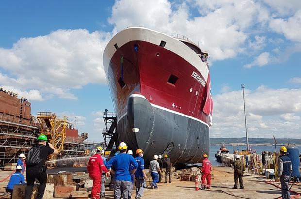 84 metrelik Krıstıansund Norveç denizlerinde çalışacak