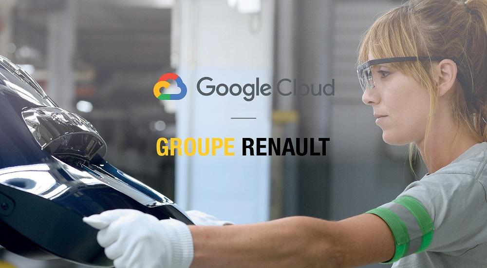 Renault ve Google'dan 4.0 için iş birliği