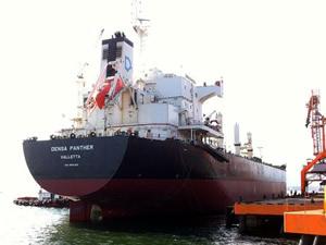 M/V DENSA PANTHER, Chornomorsk Limanı'nda tutuklandı