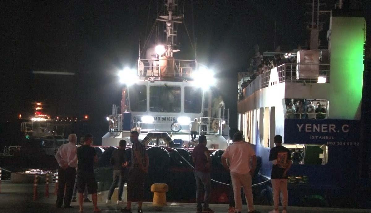 Avşa-İstanbul feribotu Marmara'nın ortasında mahsur kaldı