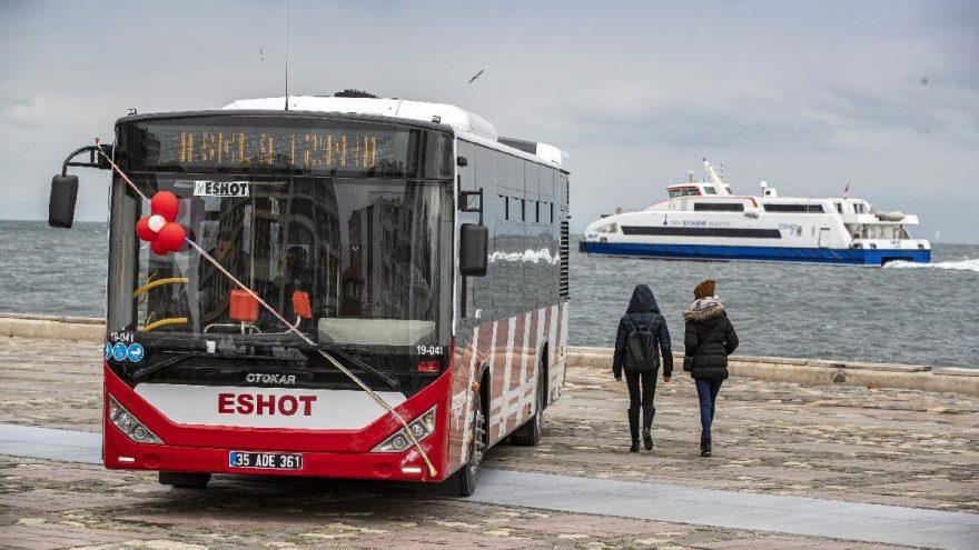 ESHOT'un 52 yeni Otokar otobüsü göreve başladı