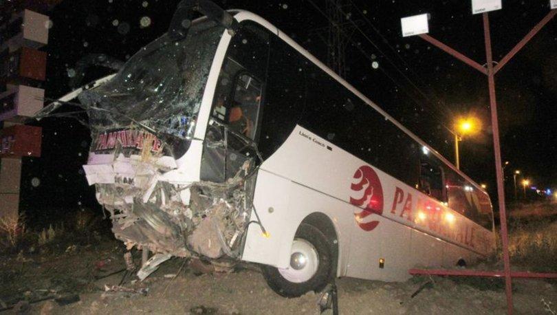 Yolcu otobüsü şarampole düştü: 30 yaralı var