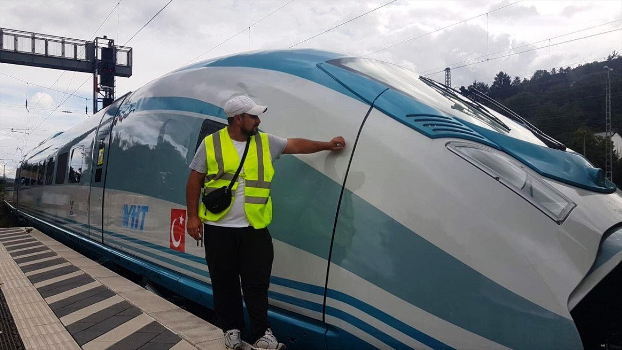 Almanya'dan alınan tren setleri Türkiye yolunda