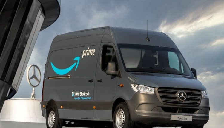 Amazon, 1.800 adet elektrikli Mercedes aldı