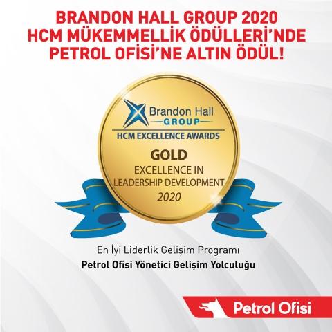 HCM Mükemmellik'te Altın Ödül Petrol Ofisi'nin