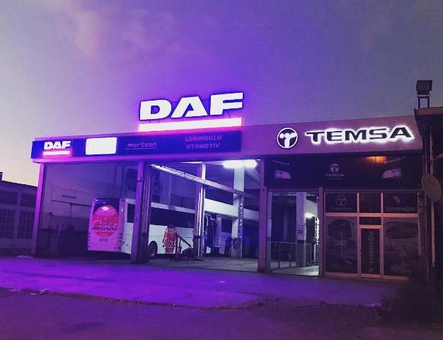 DAF-MERTSAN, Samsun ve Antalya'da da olacak
