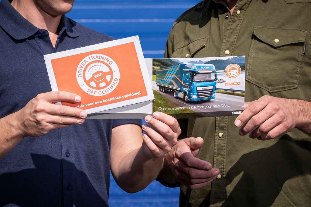 DAF'ın EcoDrive+ hizmeti Avrupa'da da etkin olacak