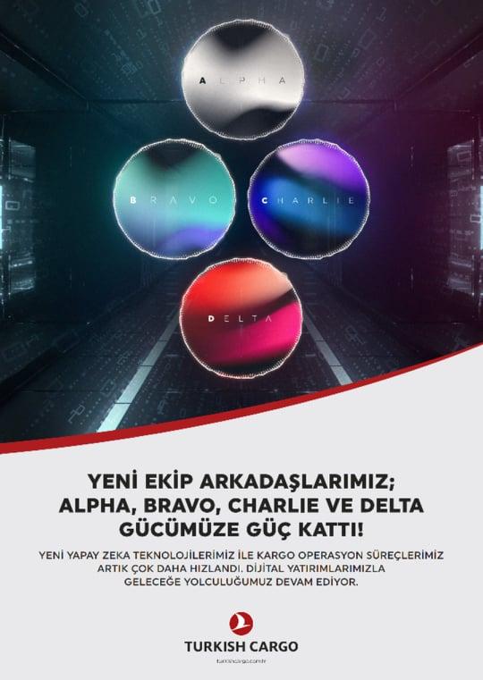 Turkish Cargo, dört yeni yapay zeka robotunu tanıttı