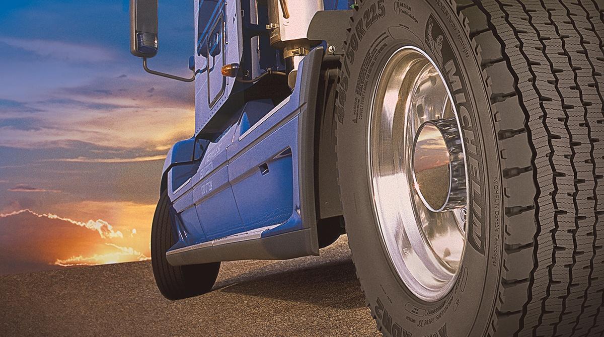 Michelin, ürün gamına uzun ömürlü kamyon lastiklerini ekledi