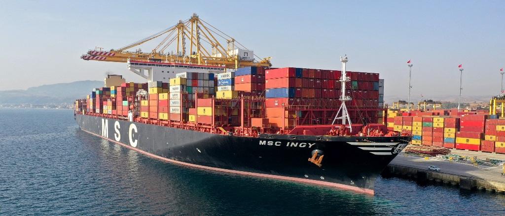 Asyaport'tan tarihi konteyner elleçleme rekoru